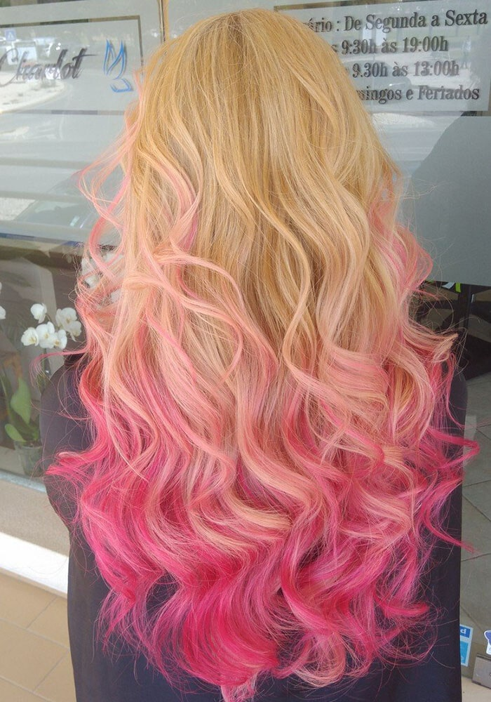 hairstylist colored hair